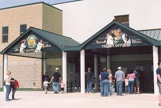 Gate 3 & Ticket Office, Elfstrom Stadium