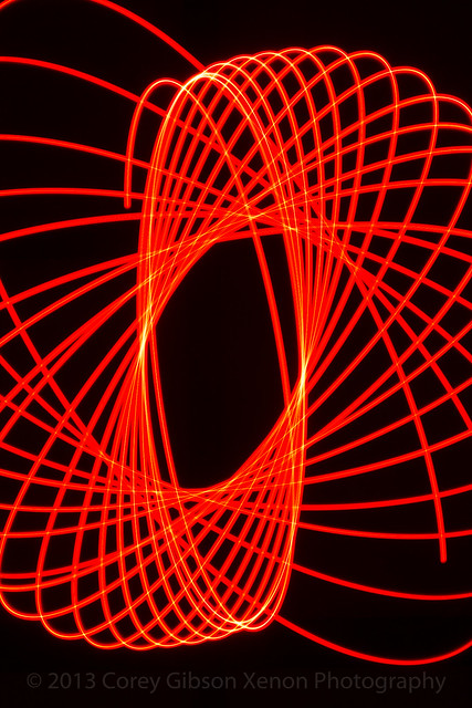 Light Paint Spirography