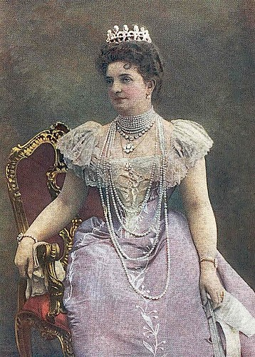 1901 (published) Princess Margherita of Savoia.