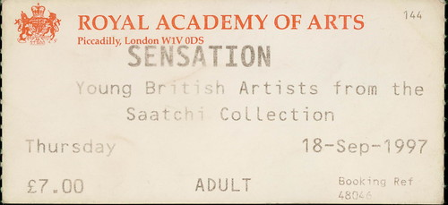 Sensation, Royal Academy of Art 18 September 1997