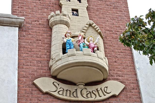 Sand Castle Clock, Holland, Michigan