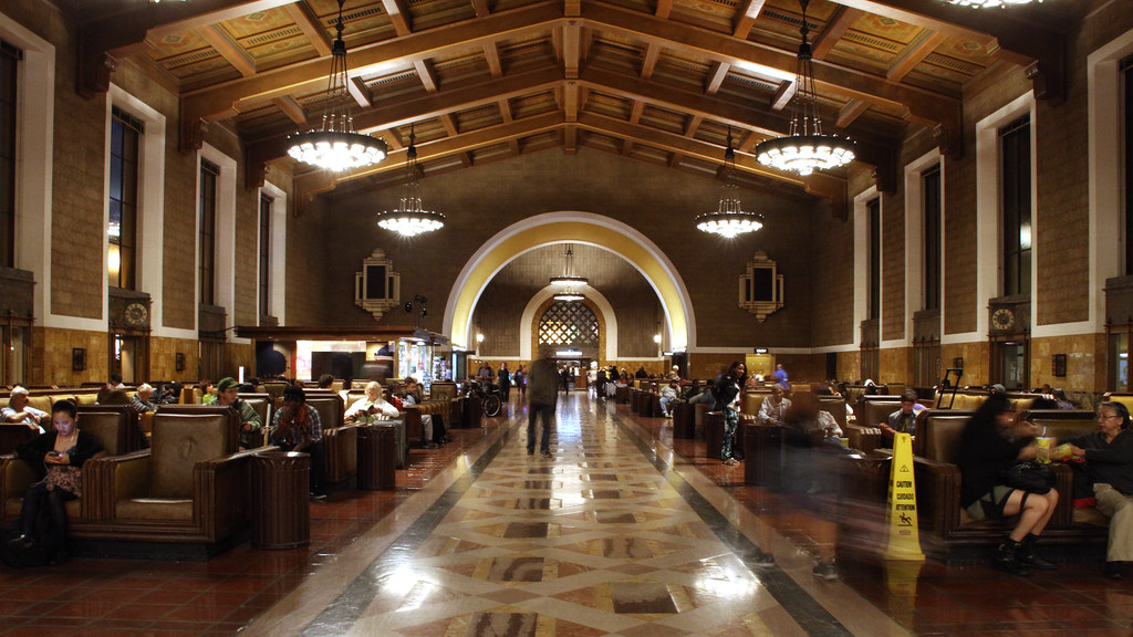 Union Station, Los Angeles, California, U.S.A.