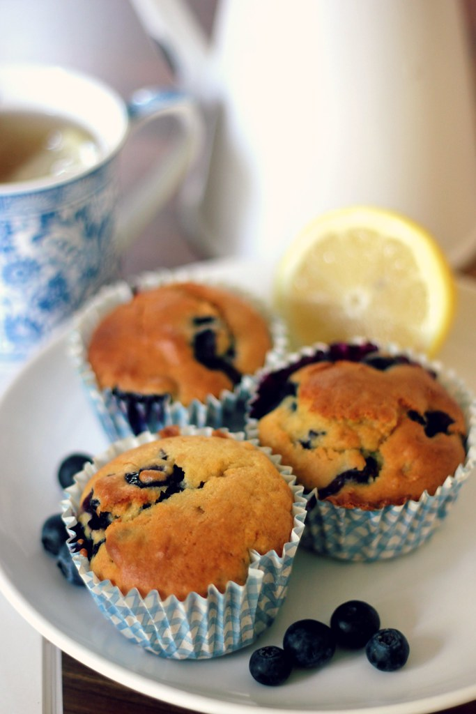 Lemon and Blueberry Muffin Recipe