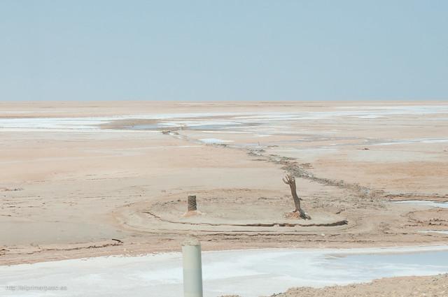 Túnez - Desierto de sal