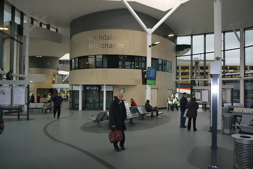 Bus Station Concourse