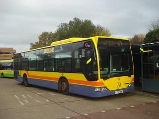 First Beeline 64017 on Route 171, Bracknell