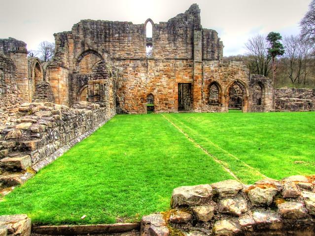 Durham Visit 2013 04 139 Finchale Abbey HDR