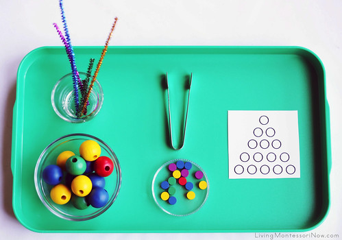 1-5 Bead Stair and Practical Life Activity