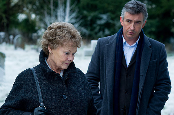 Judi Dench and Steve Coogan fashion a great story out of PHILOMENA.