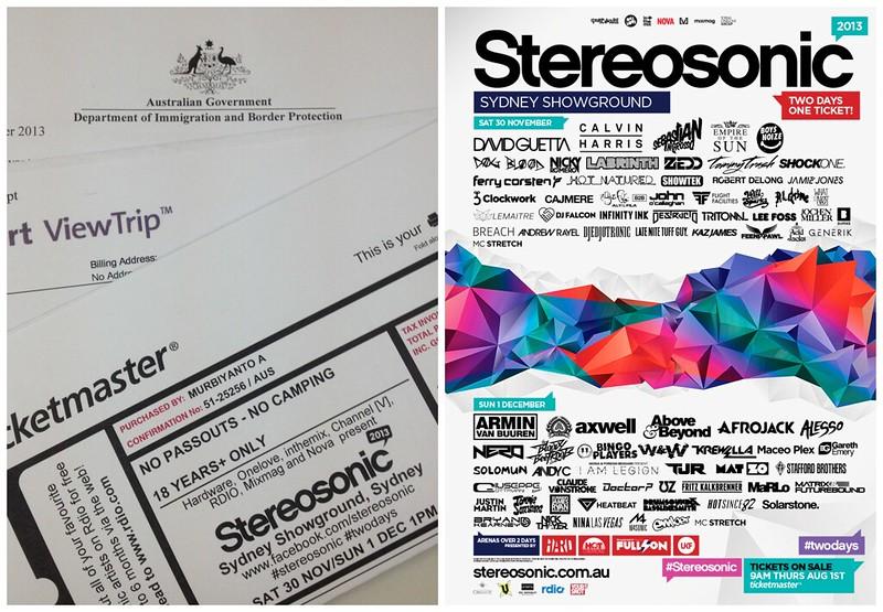 stereosonic ticket