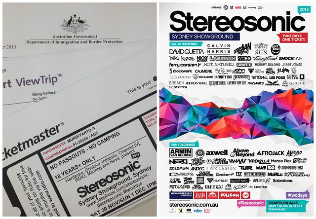 stereosonic ticket