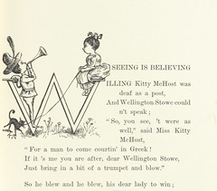 """British Library digitised image from page 55 of """"When Life is Young: a collection of verse for boys and girls"""""""