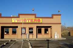 NMTXRoadtrip2013: Breaking Bad -- Twisters (stand-in for 'Los Pollos Hermanos')