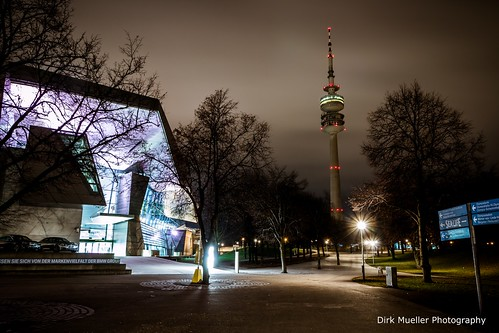 Olympiaturm, Munich, Germany by Dirk Mueller Photography