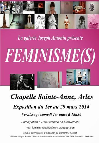 visuel féminismes chapelle sainte anne 2014
