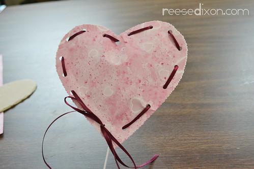 Valentine Heart Bouquet Step 10