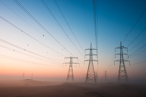 morning fog sunrise sand desert dunes uae foggy middleeast powerlines unitedarabemirates camelfestival momentaryawecom