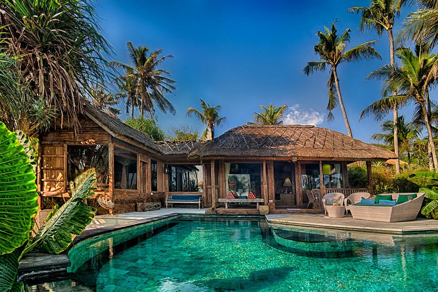 Sejuk beach villas seseh canggu private and luxury for Beach villa design