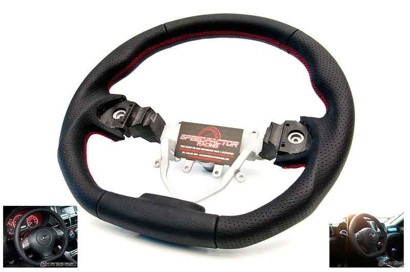 GTSPEC 08+ WRX/STi Steering Wheel