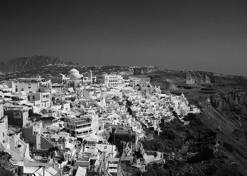 View over Thira, Santorini