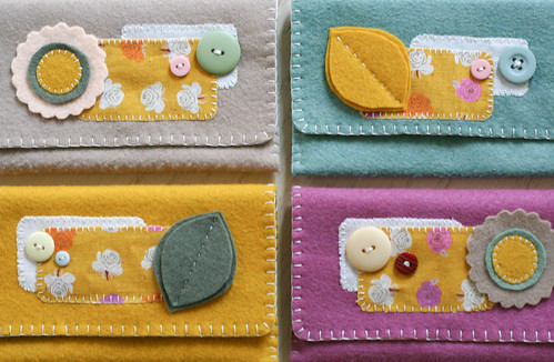felt wallets | yourwishcake.com