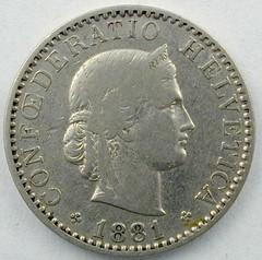 20Rp 1881-o