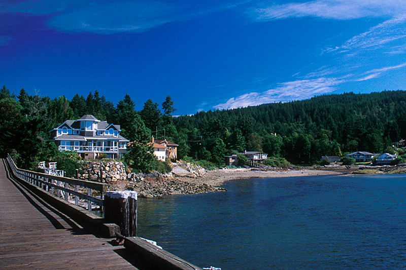 Halfmoon Bay, Sechelt Peninsula, Sunshine Coast, British Columbia, Canada