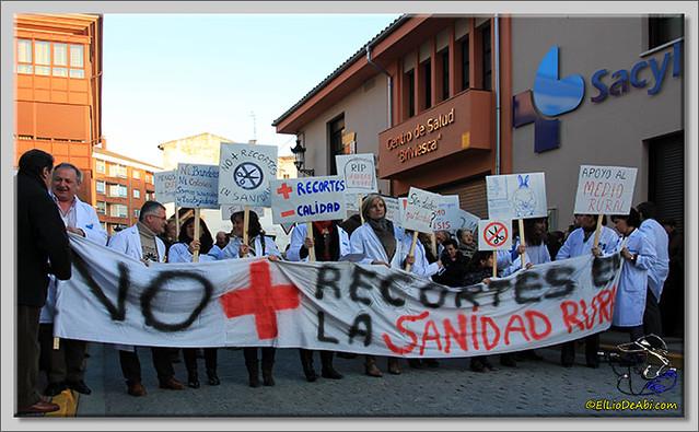 2 Manifestación contra recortes Sanidad Rural