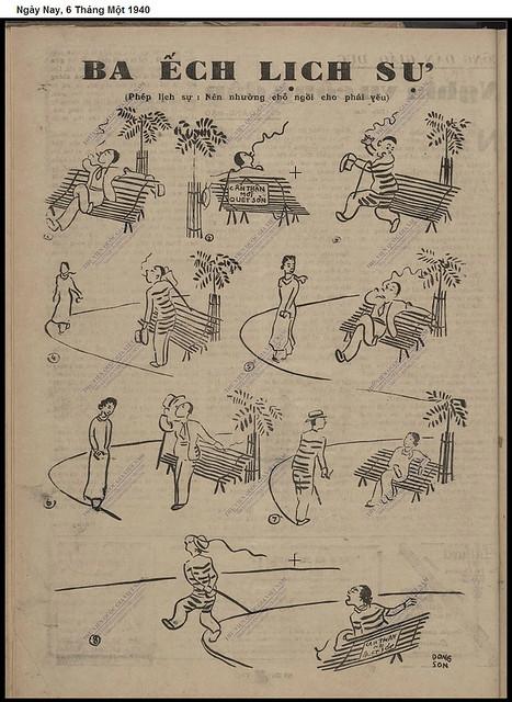 Ba Ếch lịch sự (tuần báo Ngày Nay 6-1-1939)
