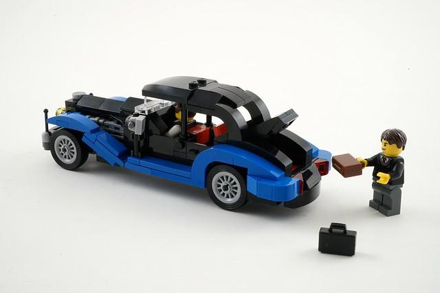 lego vintage cars minifig scale flickr photo sharing. Black Bedroom Furniture Sets. Home Design Ideas