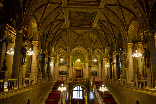 Inside the Hungarian Parliament | Budapest, Hungary