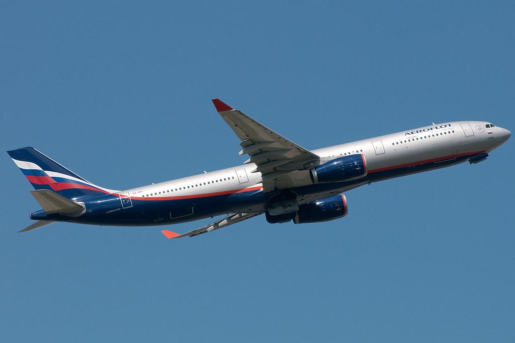 VQ-BPI - A333 - Aeroflot
