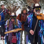 Wassailing and Mari Lwyd in Chepstow