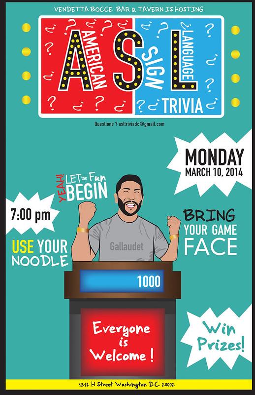 ASL Trivia Poster