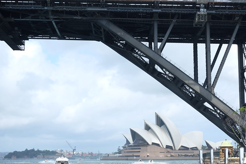 Harbour Bridge and Opera house
