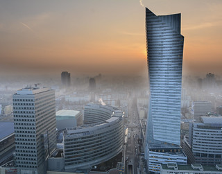 Warsaw towards the future