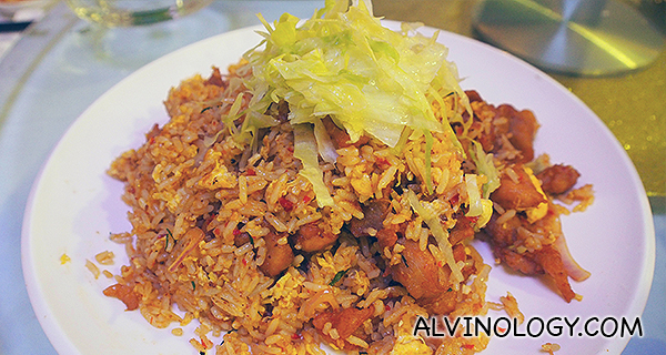 Gan Xiang Fried Rice - S: $12, M: $18, L: $24