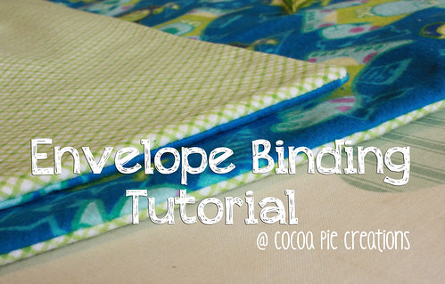 Envelope Binding Tutorial - Cocoa Pie Creations