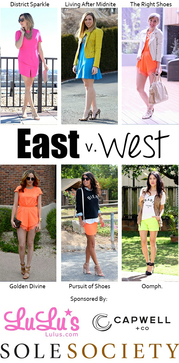 East vs West Style Neon on Living After Midnite