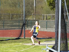 throwing, athletics, sports, player, net,