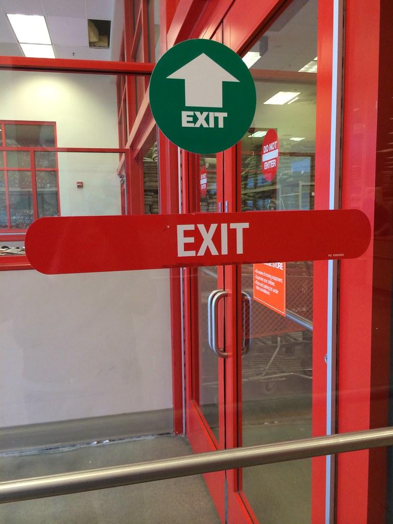 Garden Ridge   Omaha, Nebraska   Exit Decals