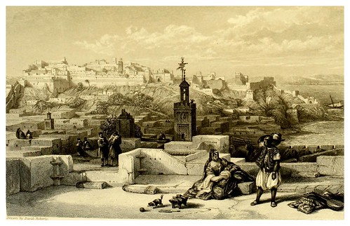011-Ciudadela de Tanger-Picturesque views in Spain and Morocco…Tomo II-1838-David Roberts