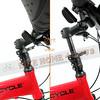 245-000-B-P-007 PARACYCLE 小傘兵前避震折疊單車20吋24速前碟亮紅色-7