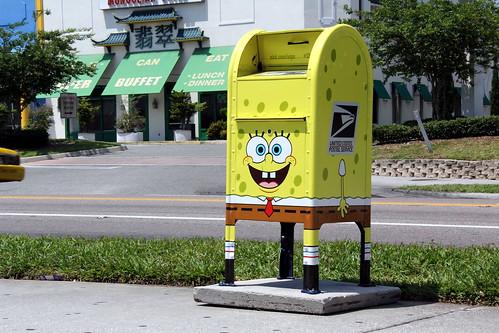 9 mai - Enfin la poste américaine se décide à faire des boite à lettres JAUNES !