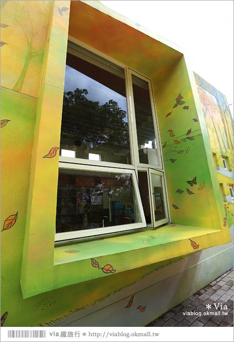 【彰化村東國小】彰化彩繪國小~夢幻繪本風!童話小屋居然在校園裡現身了12