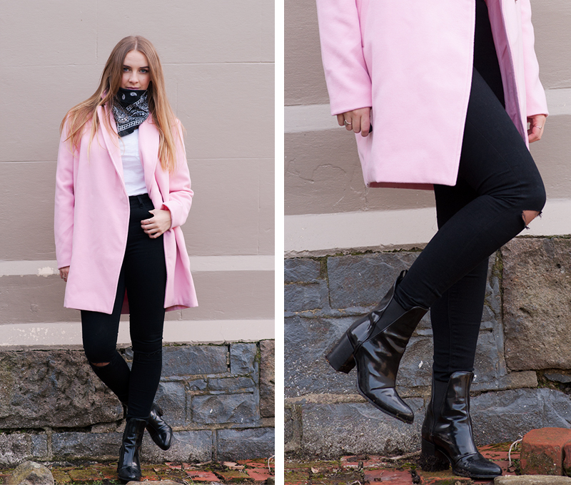 Candy Coloured Coat - StolenInspiration.com