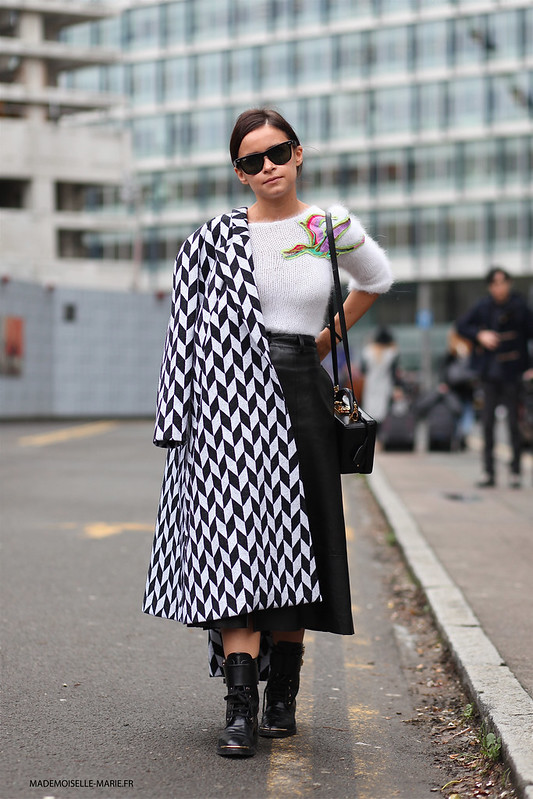 Miroslava Duma at London fashion week copie