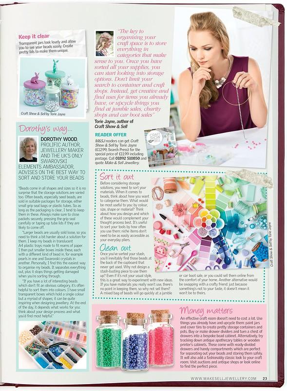 Make & sell jewellery magazine