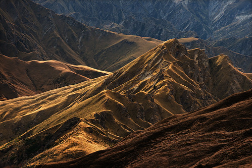 light mountains canyon valley shade nz otago skippers