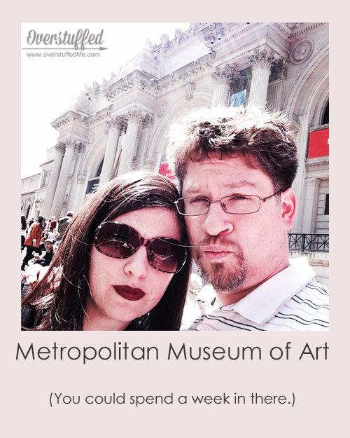 NYC Selfie Metropolitan Museum of Art